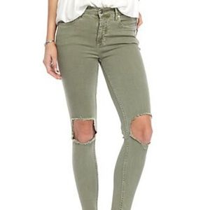 Free People Classic Skinny Jeans - Size 24 - NWT